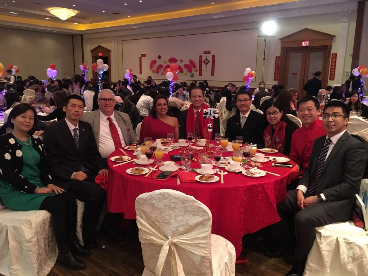 Rocky Lo Air Canada On Twitter Celebrating Lunarnewyear With Aircanada Partners Last Night In Toronto Markhameventctr From All Of Us
