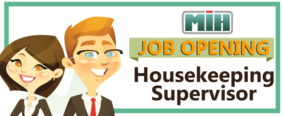 Image result for hiring House Keeping Supervisor