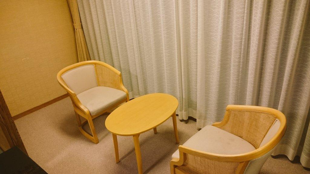 旅館のこのスペースが好きな人は正直に挙手