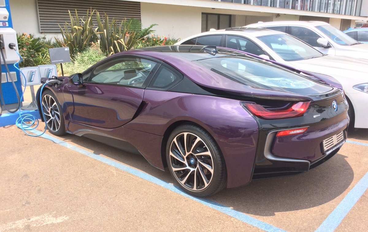Zero2turbo Com On Twitter Tantalizing Twilight Purple Bmw I8 For