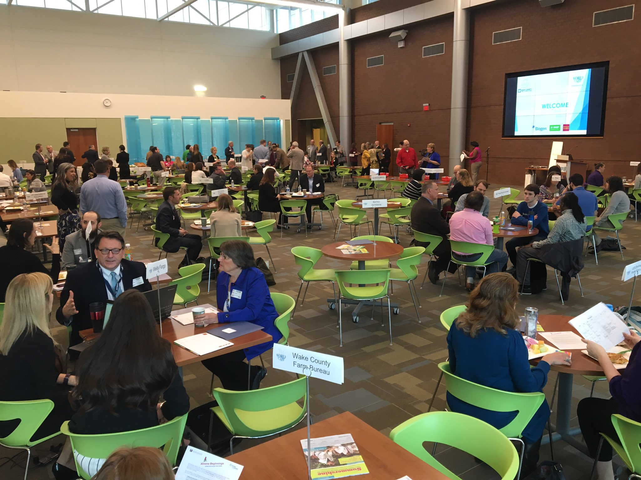 Ready for an amazing day at @wakeedpa #WorldCafe ! @WCPSS #BuildingMoreThanBuildings https://t.co/M1KrhoQnSc