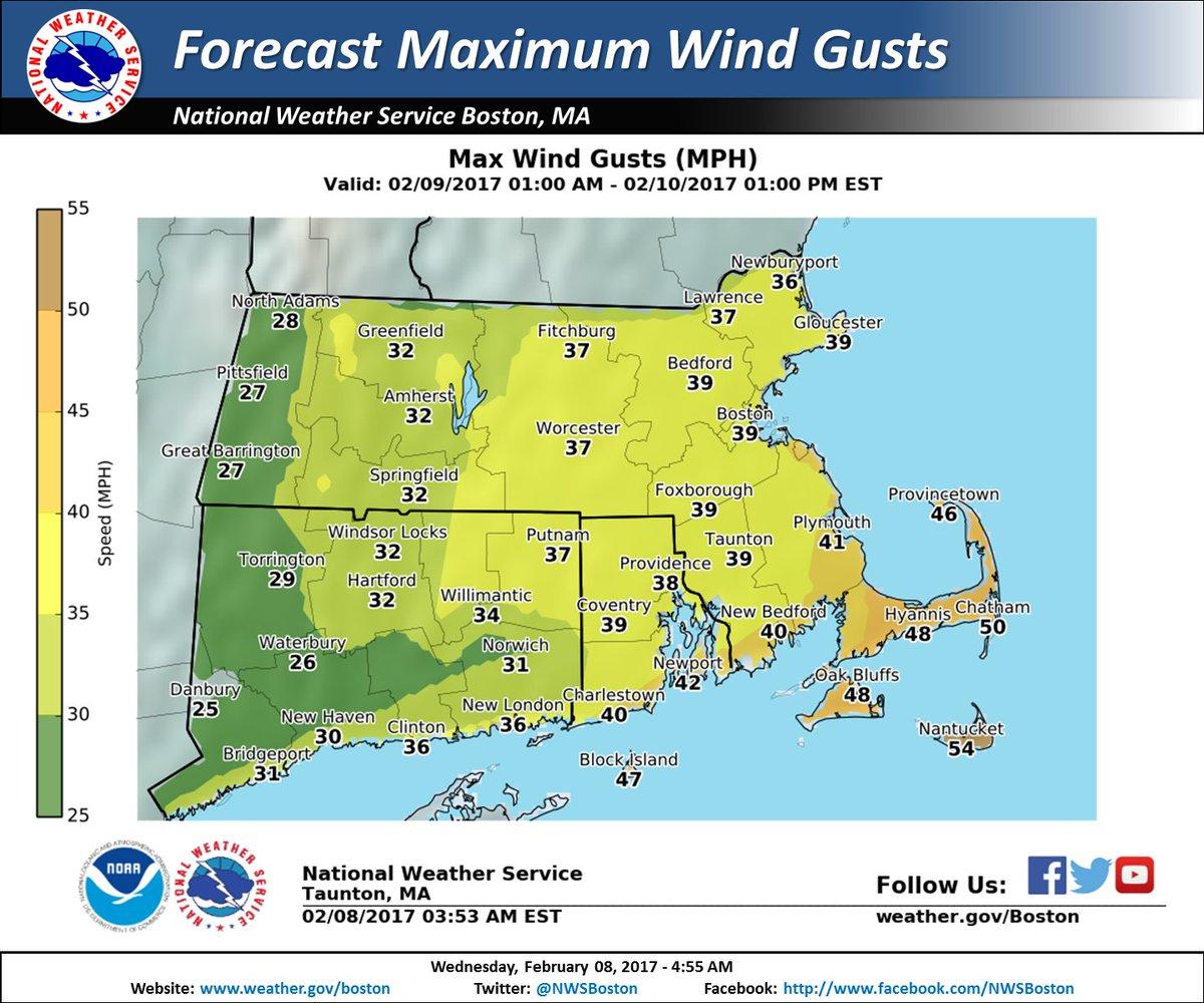 NWS Boston on Twitter Heavy snow tomorrow impacting both