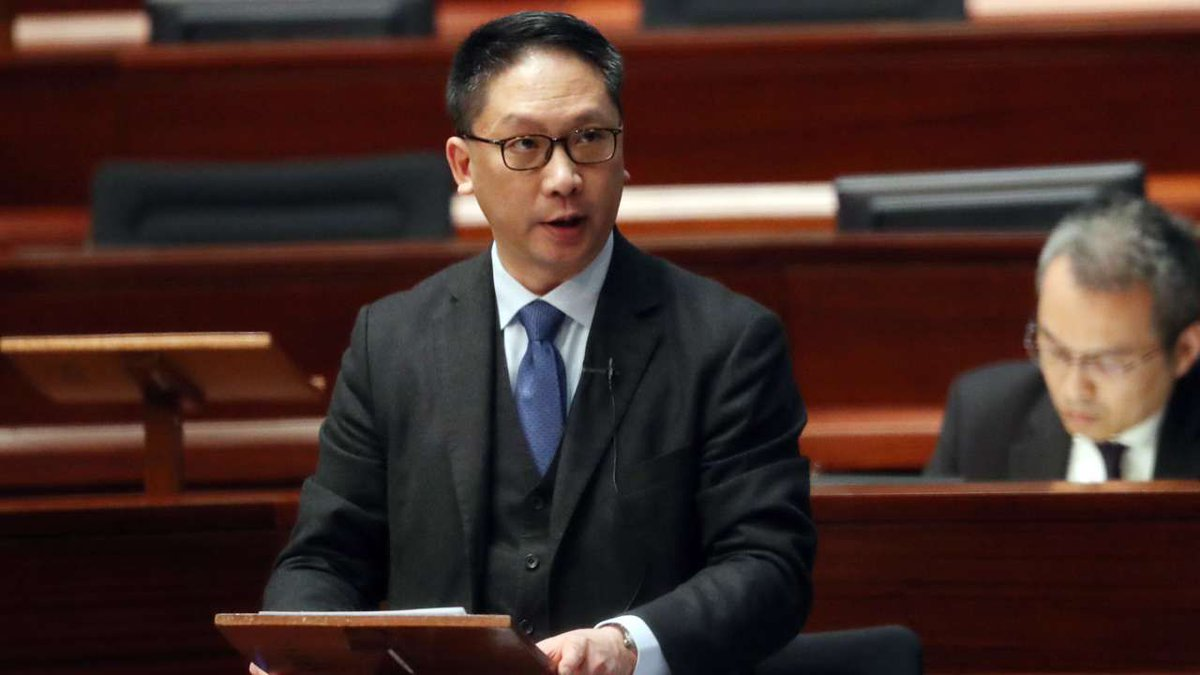 Hong Kong's justice minister rejects idea that political pressure has stalled action against Occupy protesters