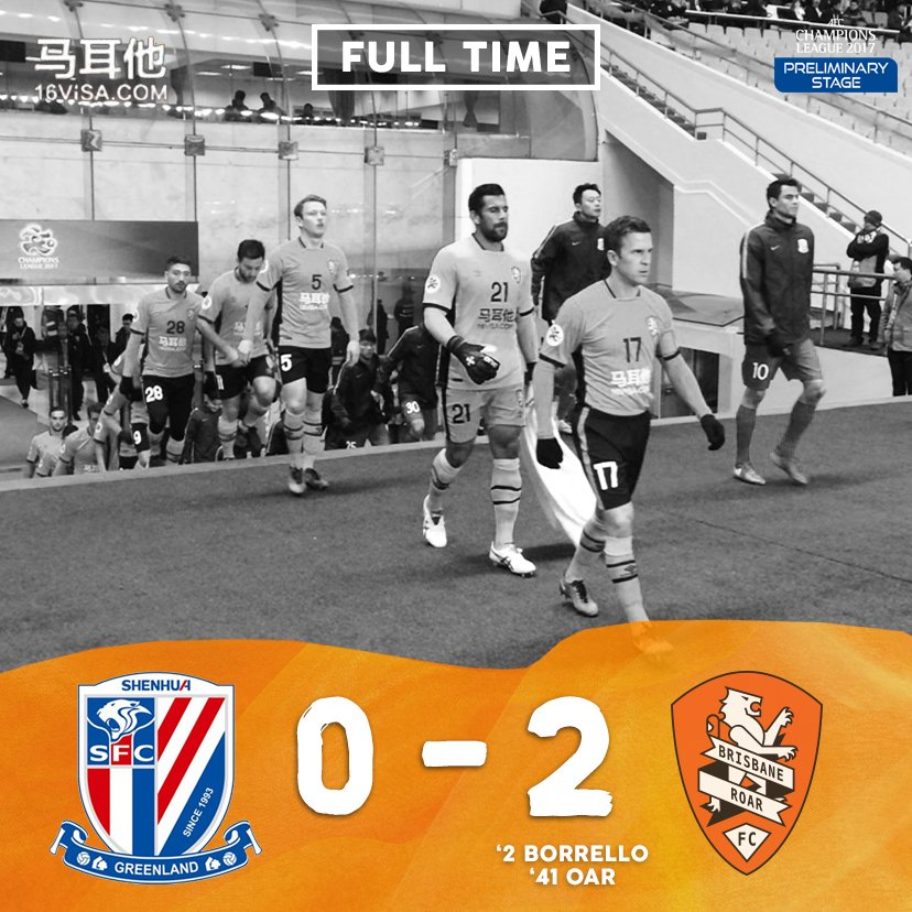 FULL TIME   Carlos Who? A world-class performance confirms our qualification for @TheAFCCL! #FEELTHEROAR #AFC2017 https://t.co/soJ3ka0QOZ