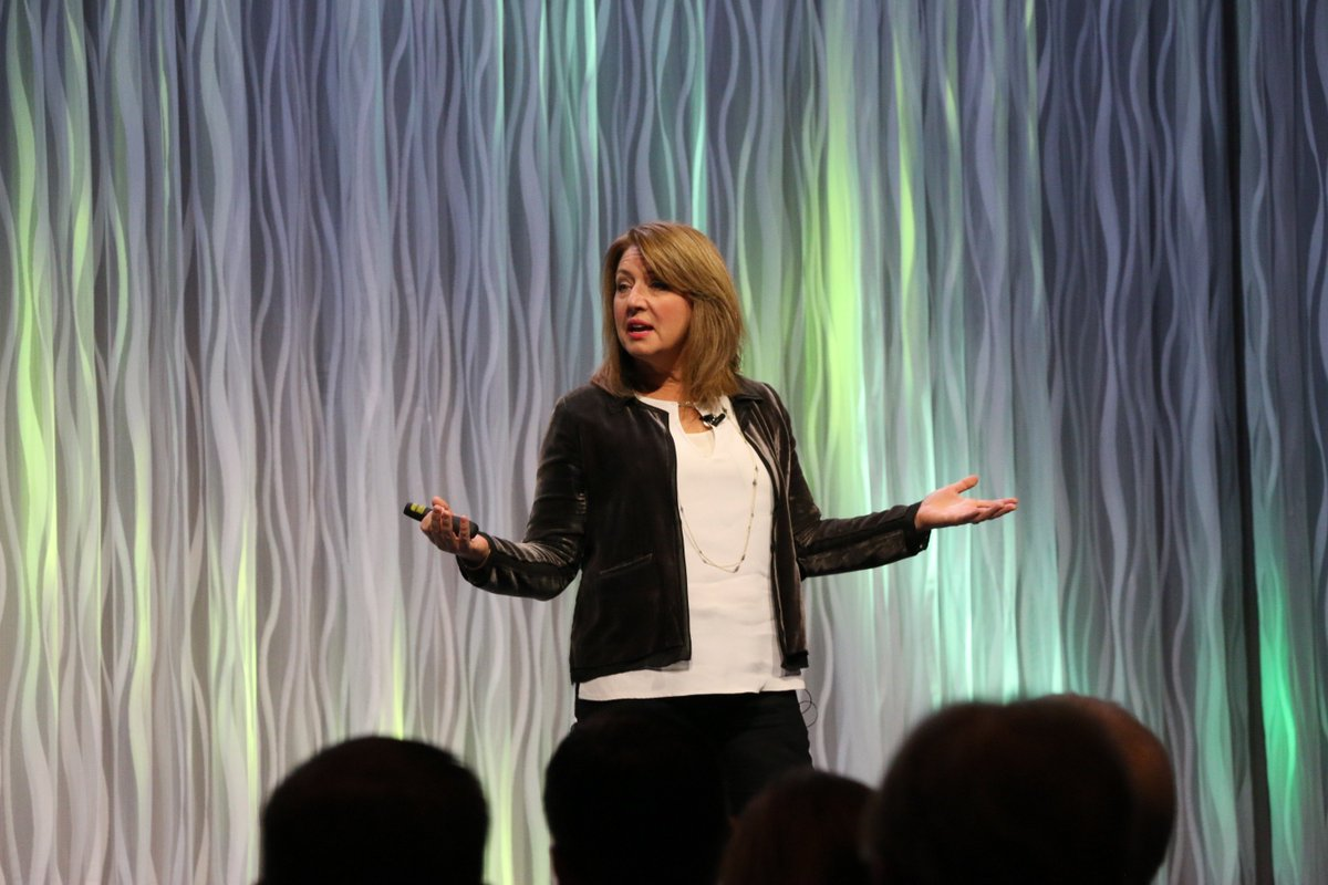 Liz Wiseman keynoted the Innovator Summit at RootsTech 2017