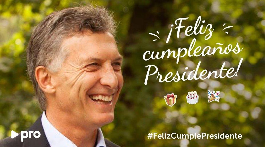 Thumbnail for #FelizCumplePresidente