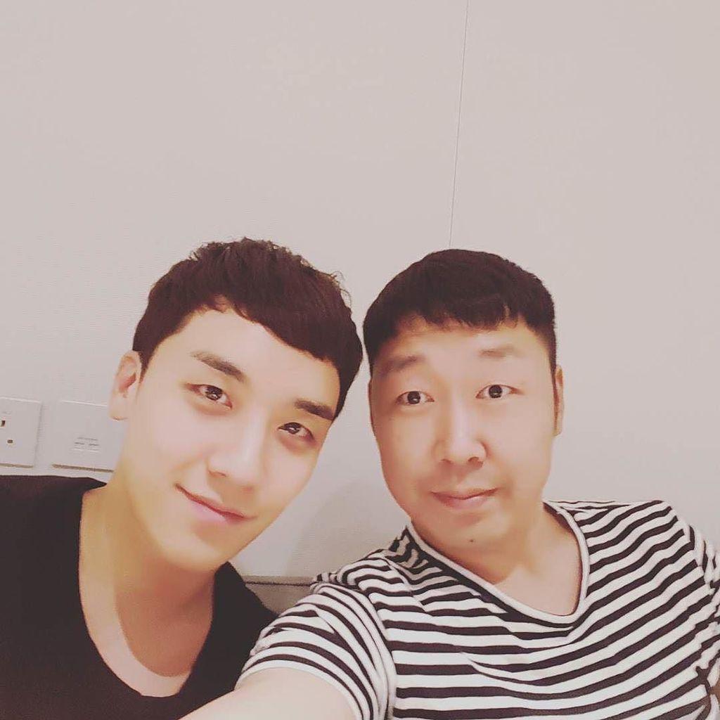 @leekh_yk_jh: come back🛀 #with @seungriseyo