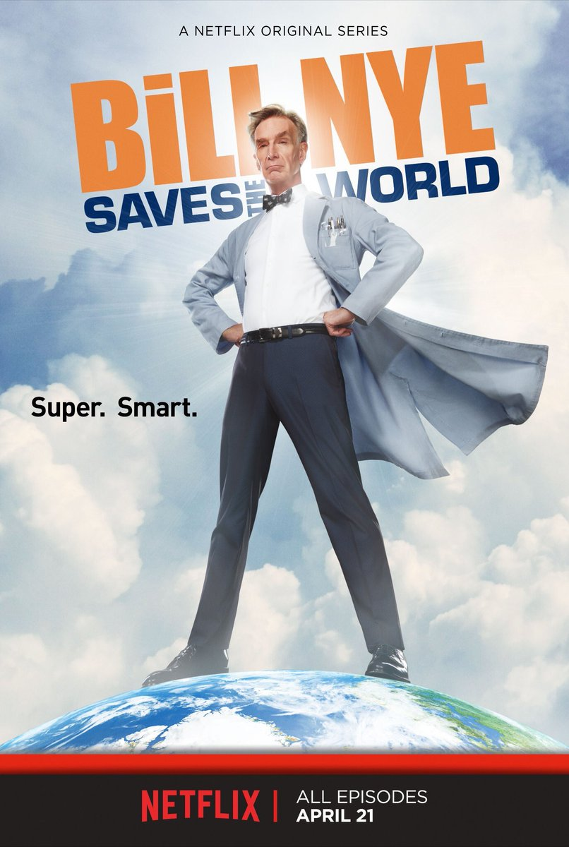I'm baaaack. April 21st. #BillNyeSavestheWorld only on @Netflix.