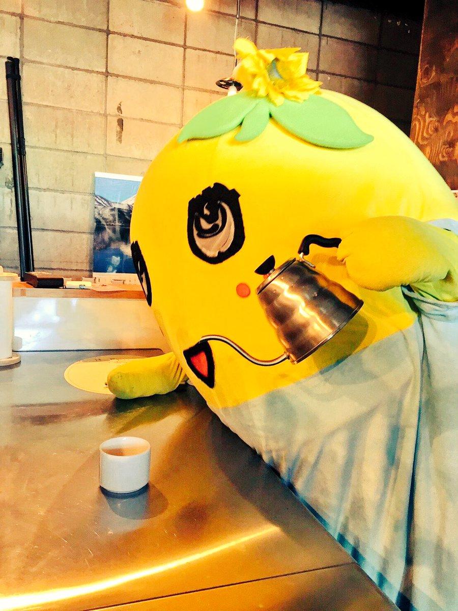 みんなー今日も一日お疲れ様なっしー♪ヾ(。゜▽゜)ノいま、美味しい梨汁コーヒー入れてあげるなっしー♪…