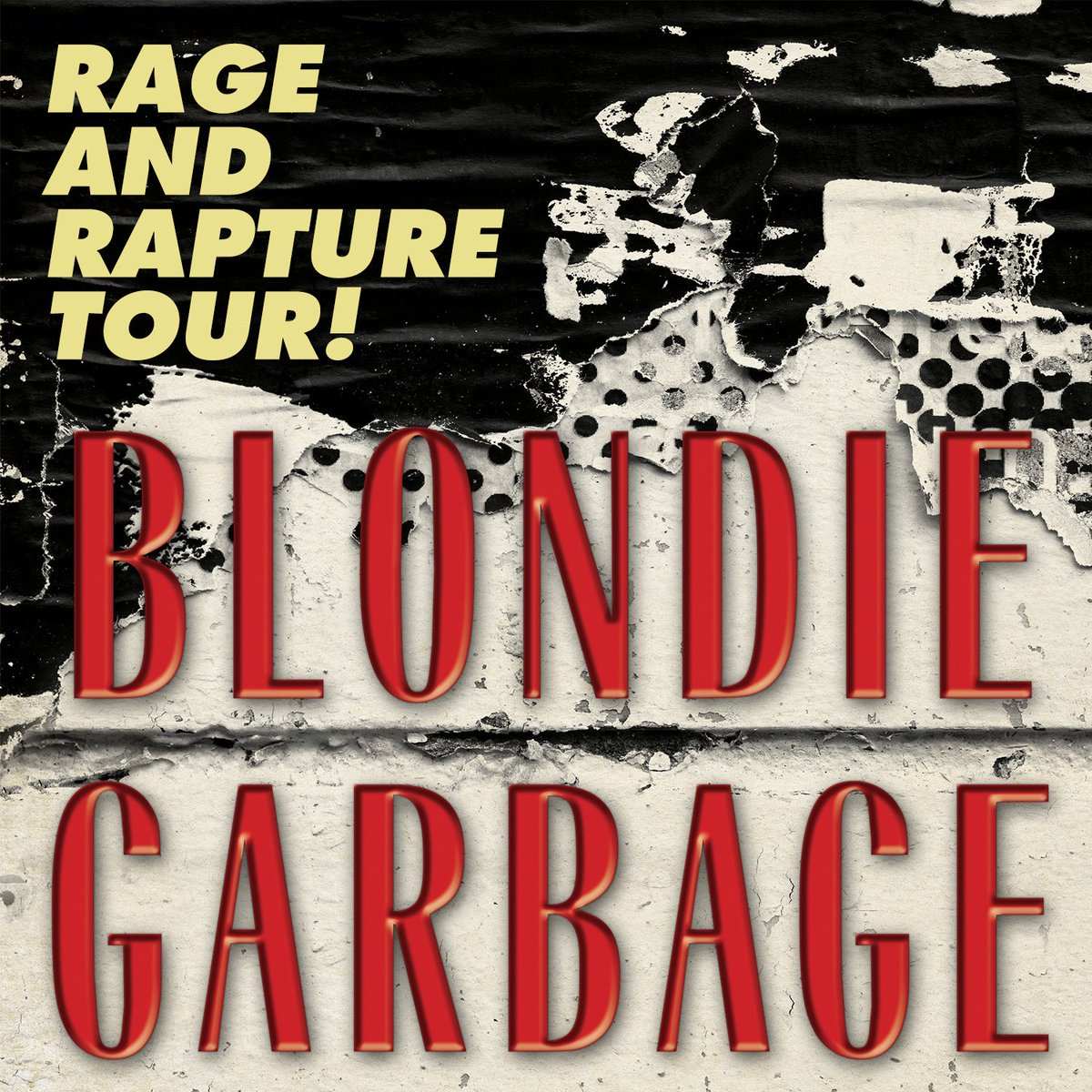 Blondie And Garbage Official Tour