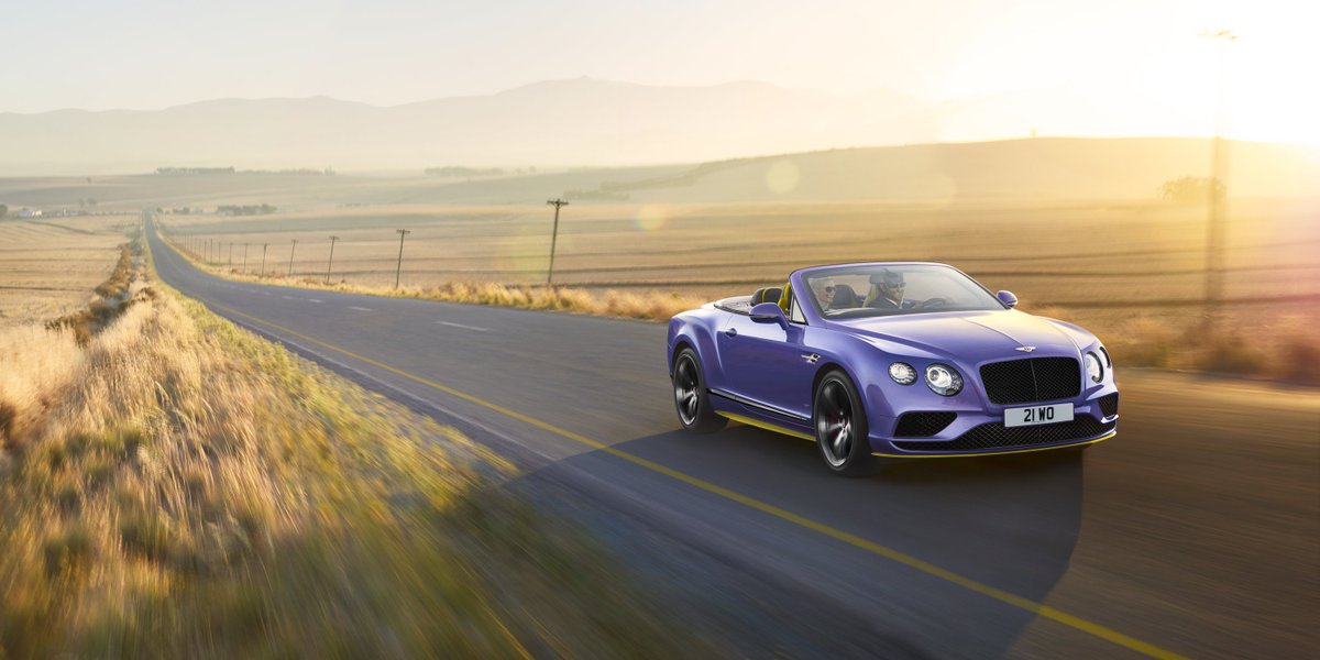 Bentley launches new #Continental #GT V8S Black Edition.