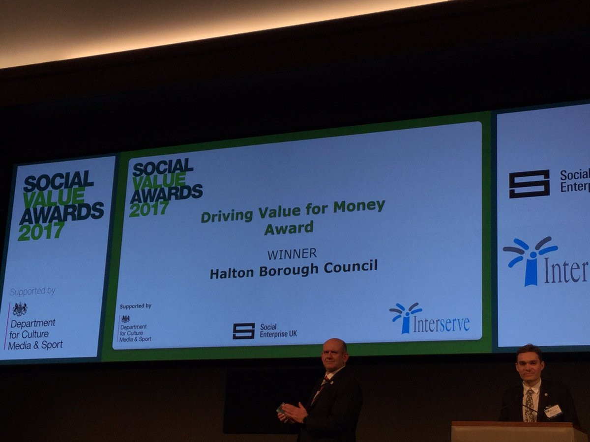 RT @JAMcEver Congrats to all social value award winners! #SVSummit @SocialEnt_UK