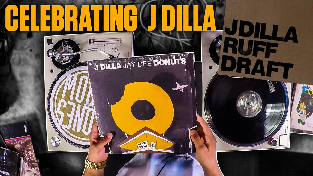 Celebrate The Life & Music of J Dilla with @VinRican   'WAX ONLY'...