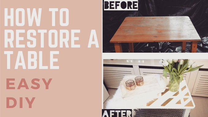 DIY: How to restore a table