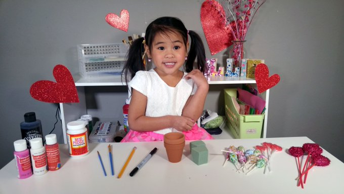 DIY: Cute Flower Pots For Your Valentine