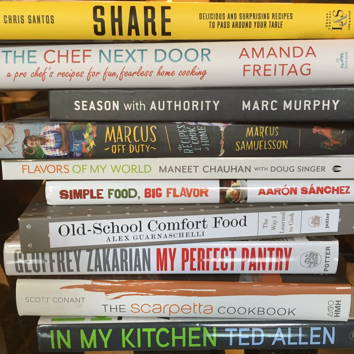 Ted allen on twitter oopsmissed one ladies and gents the ted allen on twitter oopsmissed one ladies and gents the chopped cast cookbook library congrats all foodnetwork forumfinder Image collections