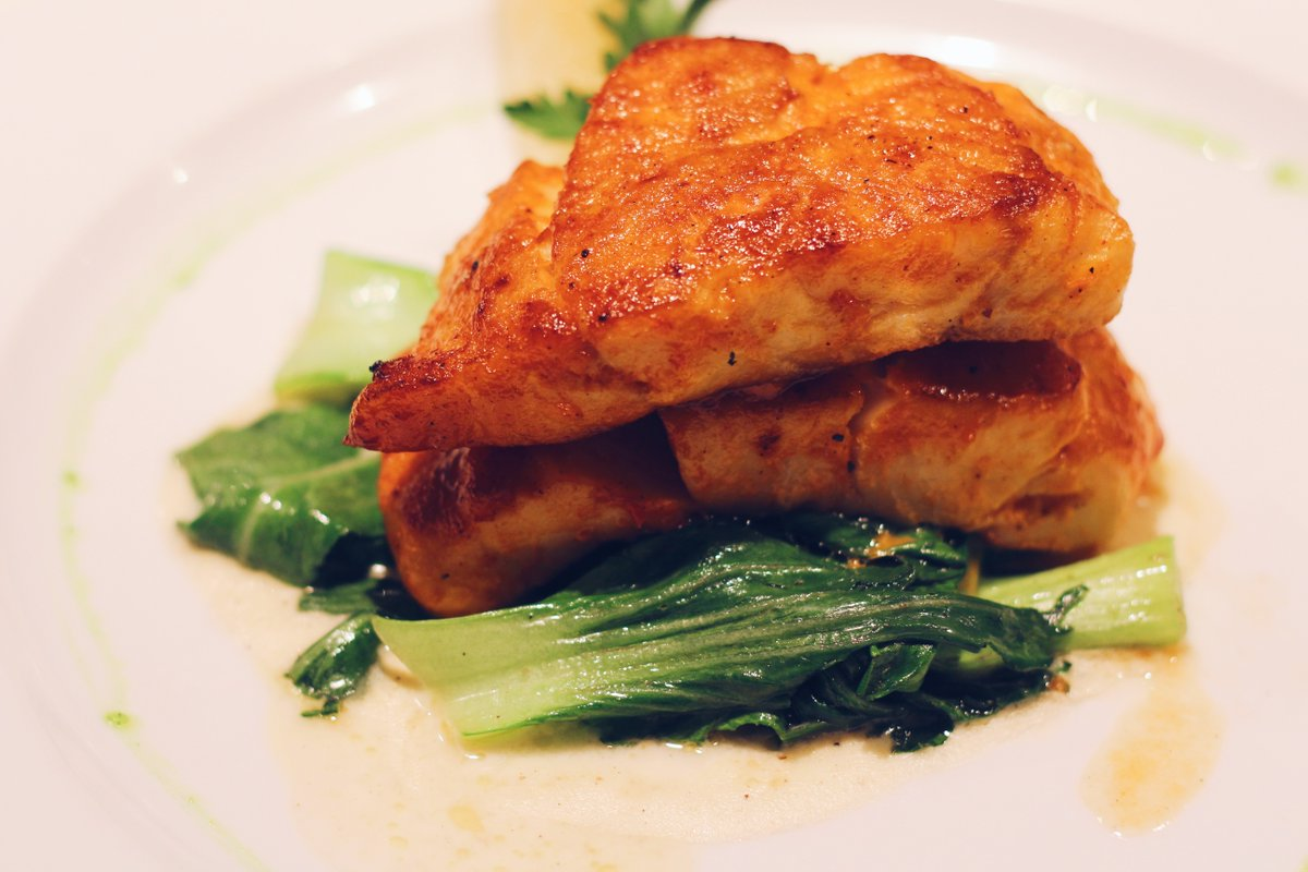 Seven&#39;s catch of the day with bok choy... #foodie #foodblogger #foodwriter #foodblogging #foodlover #delicious #vscokenya #foodnetwork #vsco<br>http://pic.twitter.com/d5Bfcim5N2