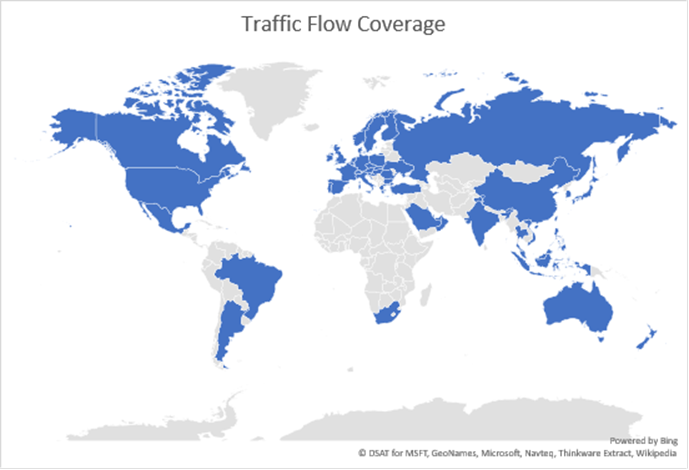 Bing Maps updated with Real Time traffic in 55 countries https://t.co/YV37H7zuMh #bingmaps #traffic #maps #gis https://t.co/iEGgFhwhQj