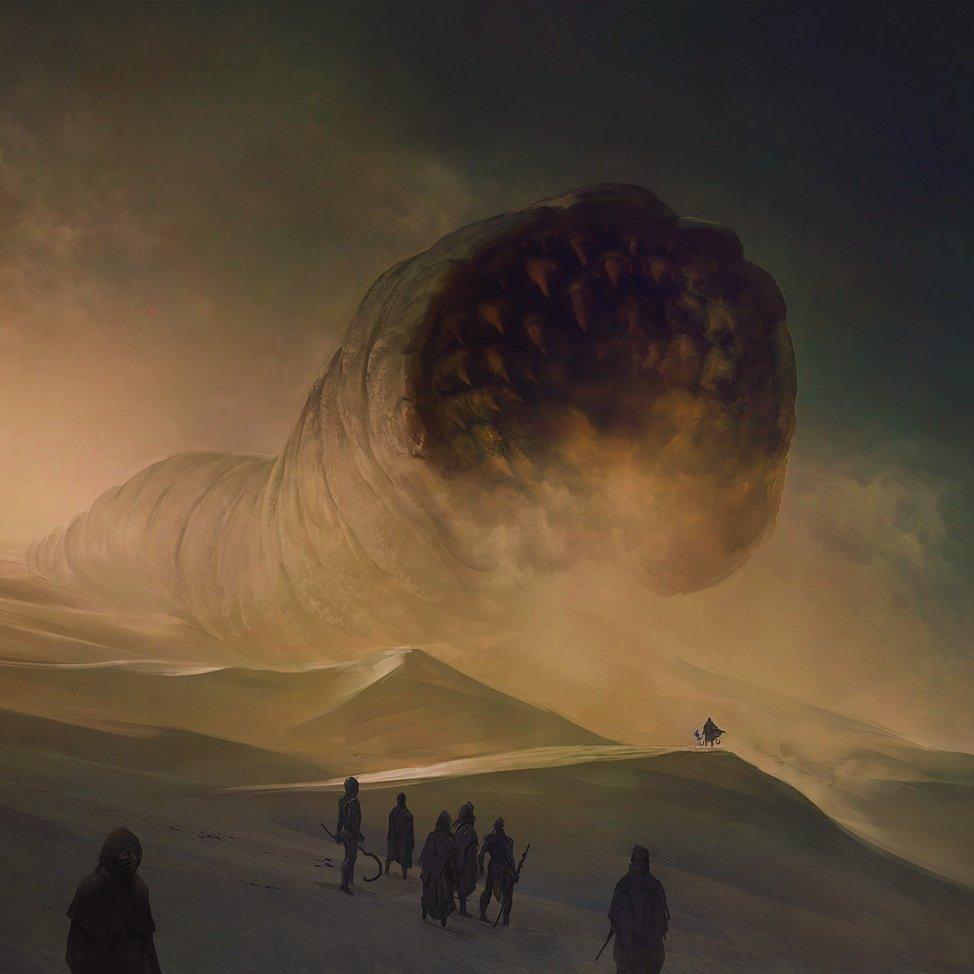 """marc simonetti on Twitter: """"Just updated my website with all my Dune  illustrations https://t.co/I7lEnI0vA7 #dune #frankherbert… """""""