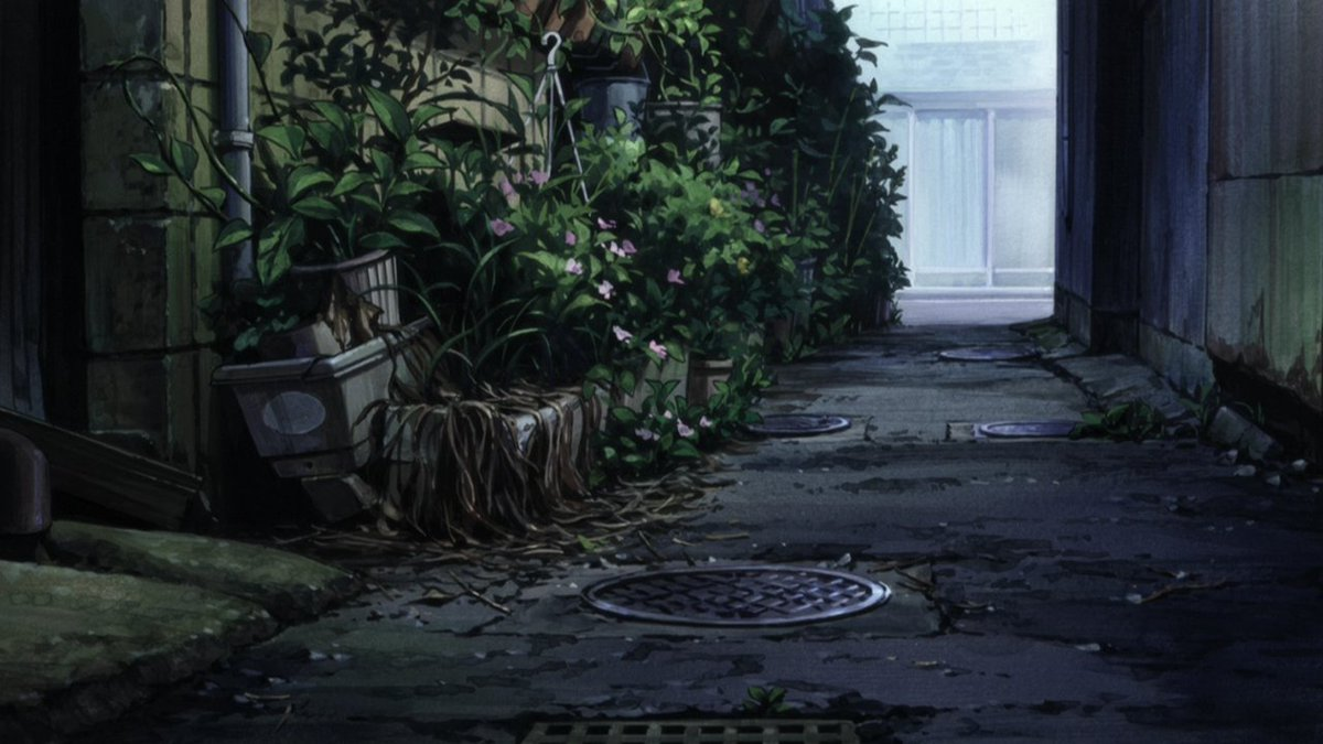 "Animation Backgrounds on Twitter: ""Aku no Hana (Hiroshi Nagahama, Zexcs - 2013) (ArtD: Kentaro Akiyama)… """