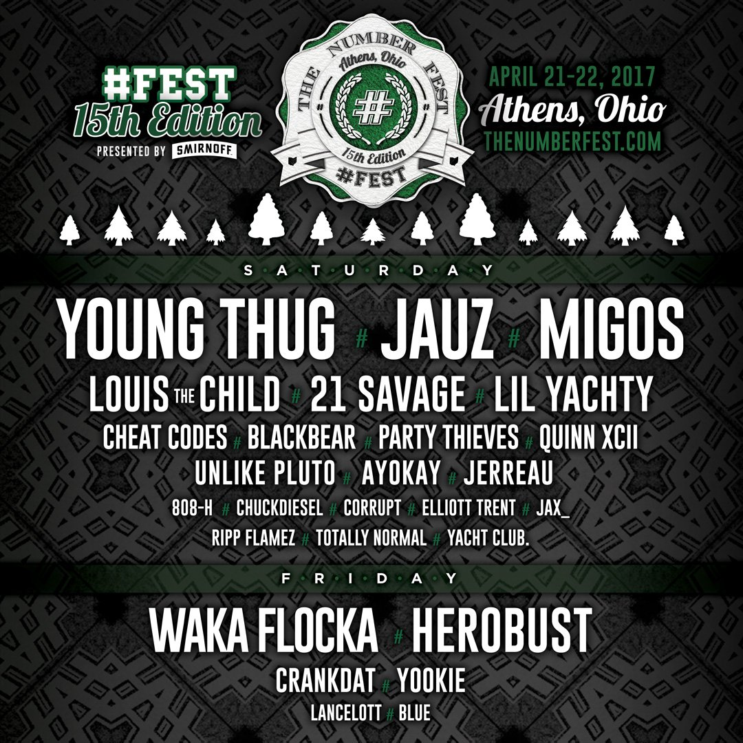 MIGOS IS COMING TO #15FEST!!  GET TICKETS HERE: https://t.co/WyfEGKluy0 https://t.co/iXFBJaXRsl