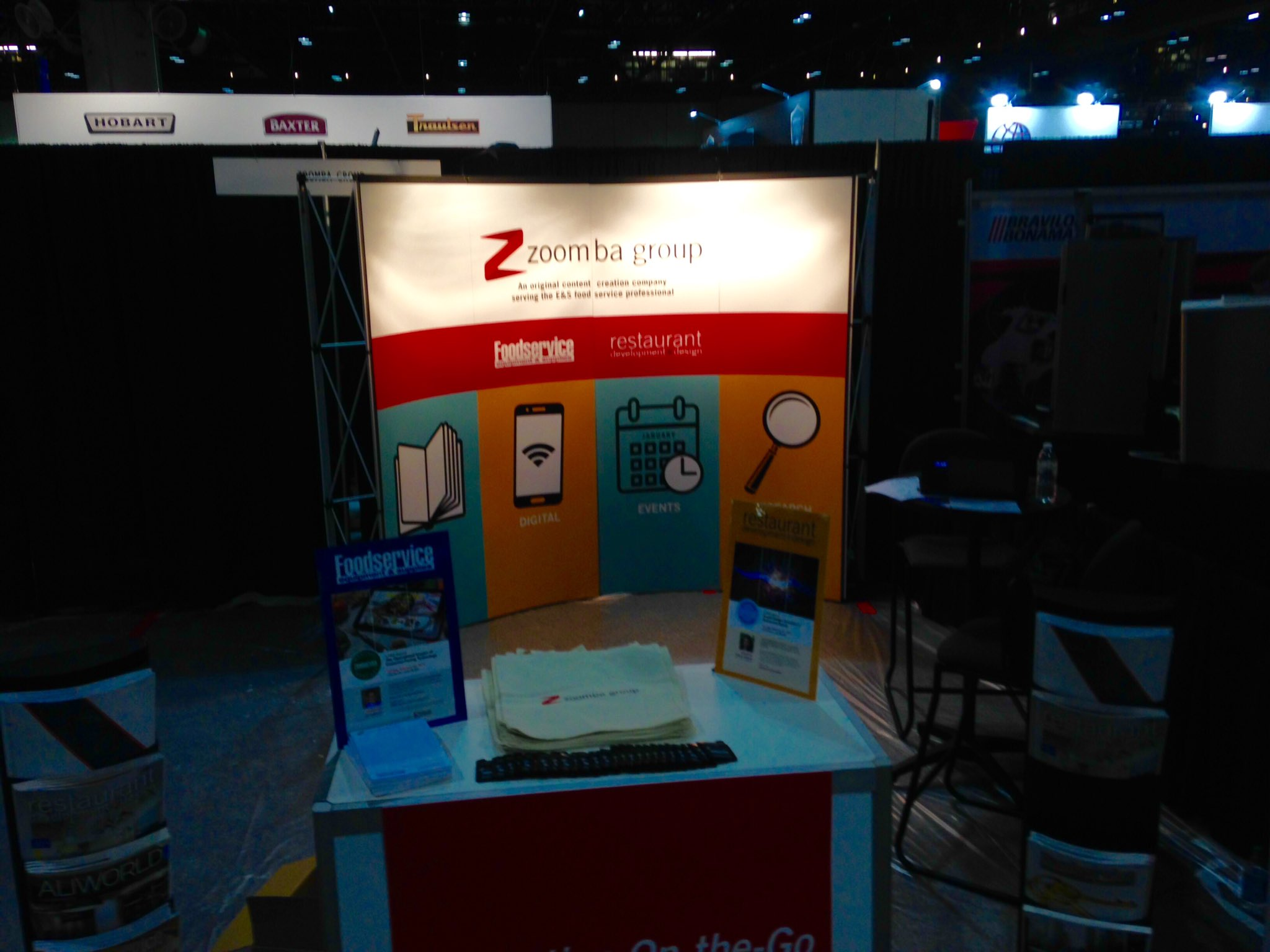 Our #TheNAFEMShow booth is almost complete. Visit us starting tomorrow at booth #1061. https://t.co/9oBPUWF6pc