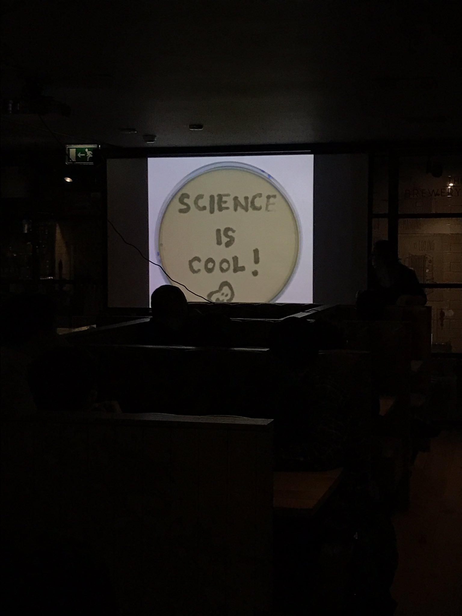 """Science is cool!"" - inspiring talk by @Dundeebora #MakeShare https://t.co/DboIStZXgA"