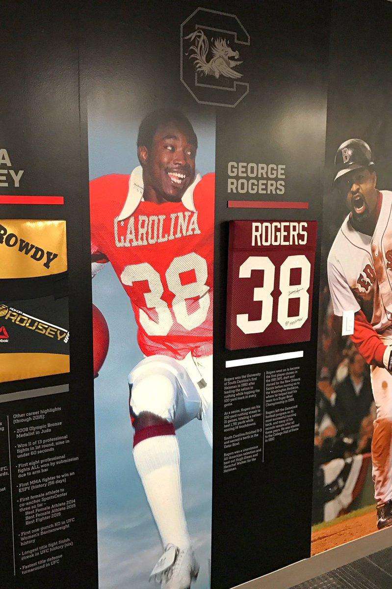 My favorite wall on @ESPN Campus! #CarolinaMade #GoGamecocks https://t.co/YiImQjZczo