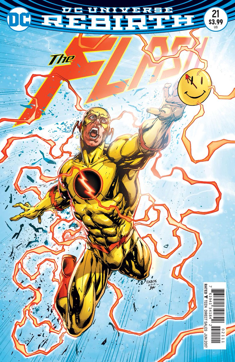 Comics It Looks Like Reverse Flash Will Be Central To Dc