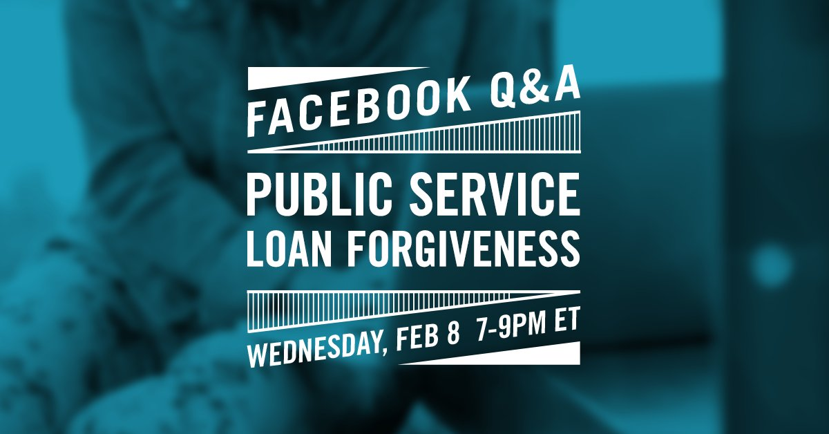 Thumbnail for Facebook Q&A About Public Service Loan Forgiveness