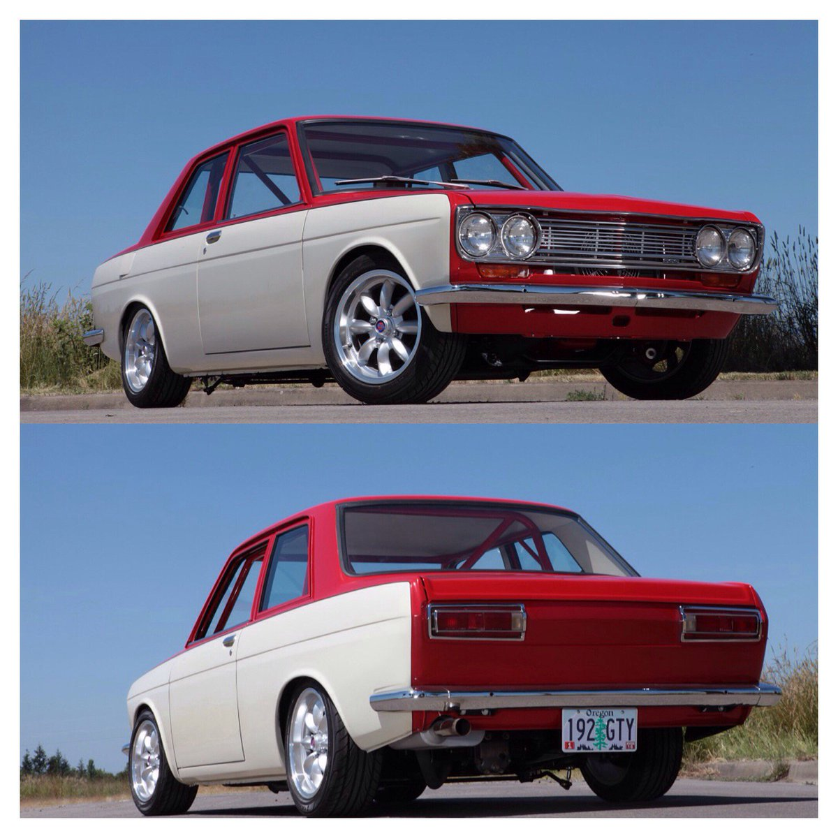 Metalworks  has beatifully blended East and West with their Flowmaster-equipped Datsun 510. https://t.co/qk9mSf0D4F