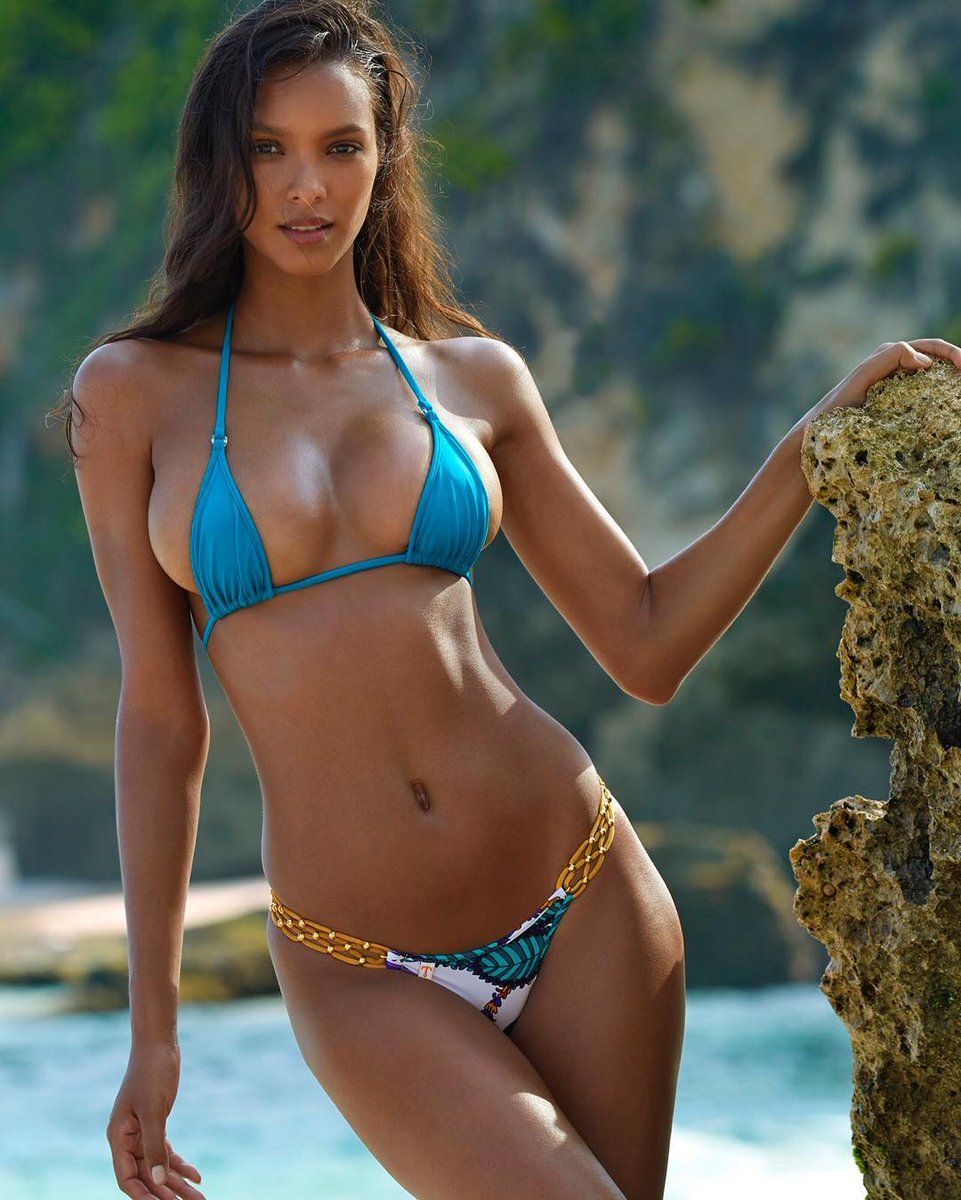 """Victorias Secret on Twitter: """"New : Lais Ribeiro for Sports Illustrated… """""""