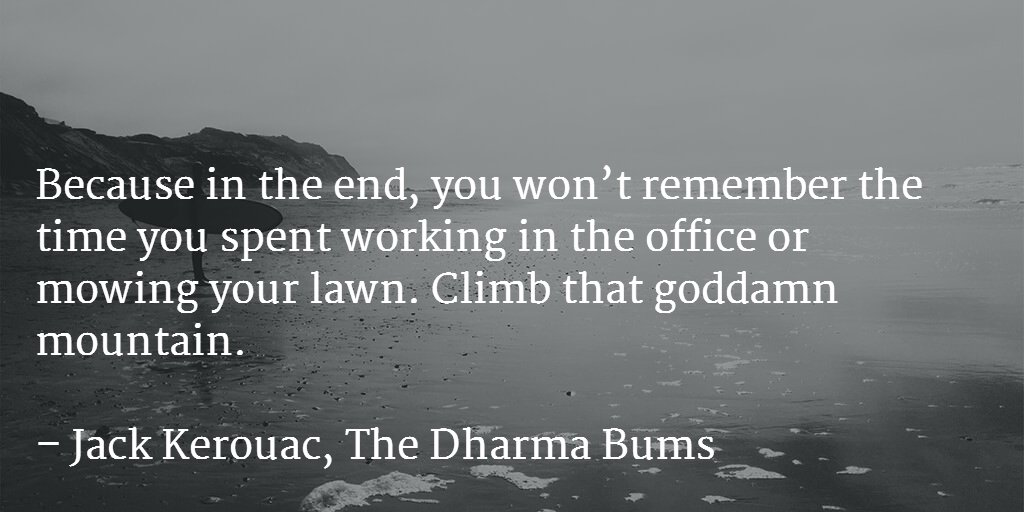 Because in the end, you won't remember the time you spent working in the office or mowing your lawn... https://t.co/JUX5jaIcGz
