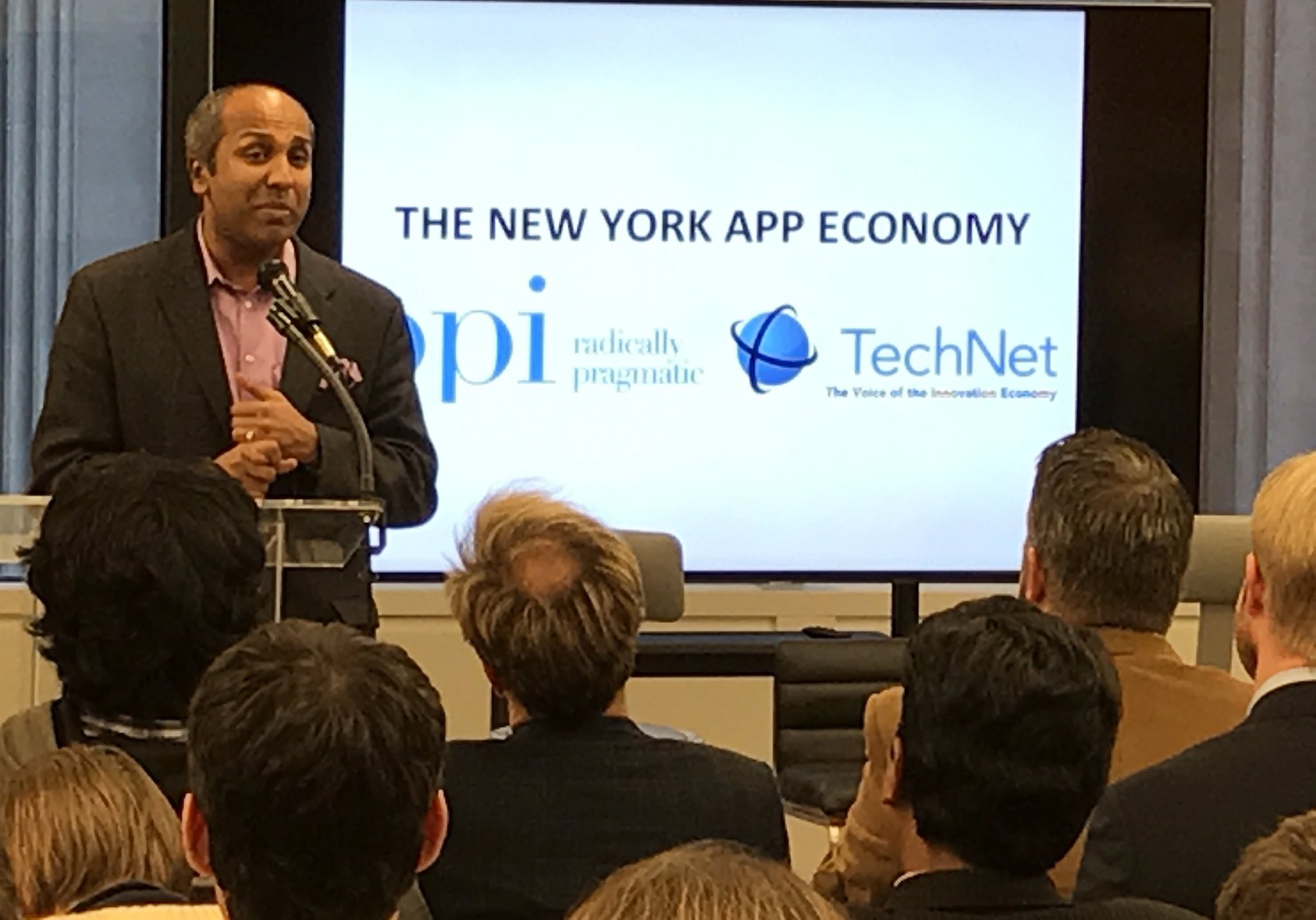The CDO of @nycgov (formerly @metmuseum @Columbia) @sree pushing empathy as part of tech disruption. @cs4nyc @NYCTechTalent prime examples. https://t.co/hHNpBE58U3