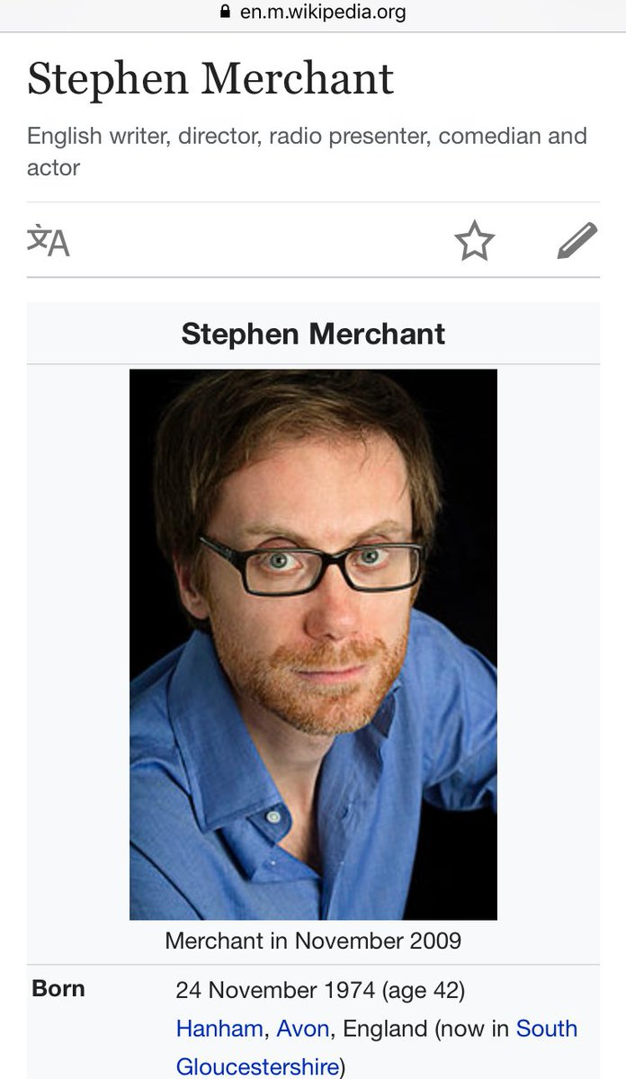 Forum on this topic: Jane Darwell, stephen-merchant-born-1974/