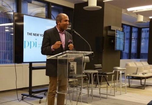 Thank you @Sree Sreenivasan for joining us today to discuss New York's #AppEconomy and your initiatives as NYC's Chief Digital Officer. https://t.co/ZmURPwdfZ8