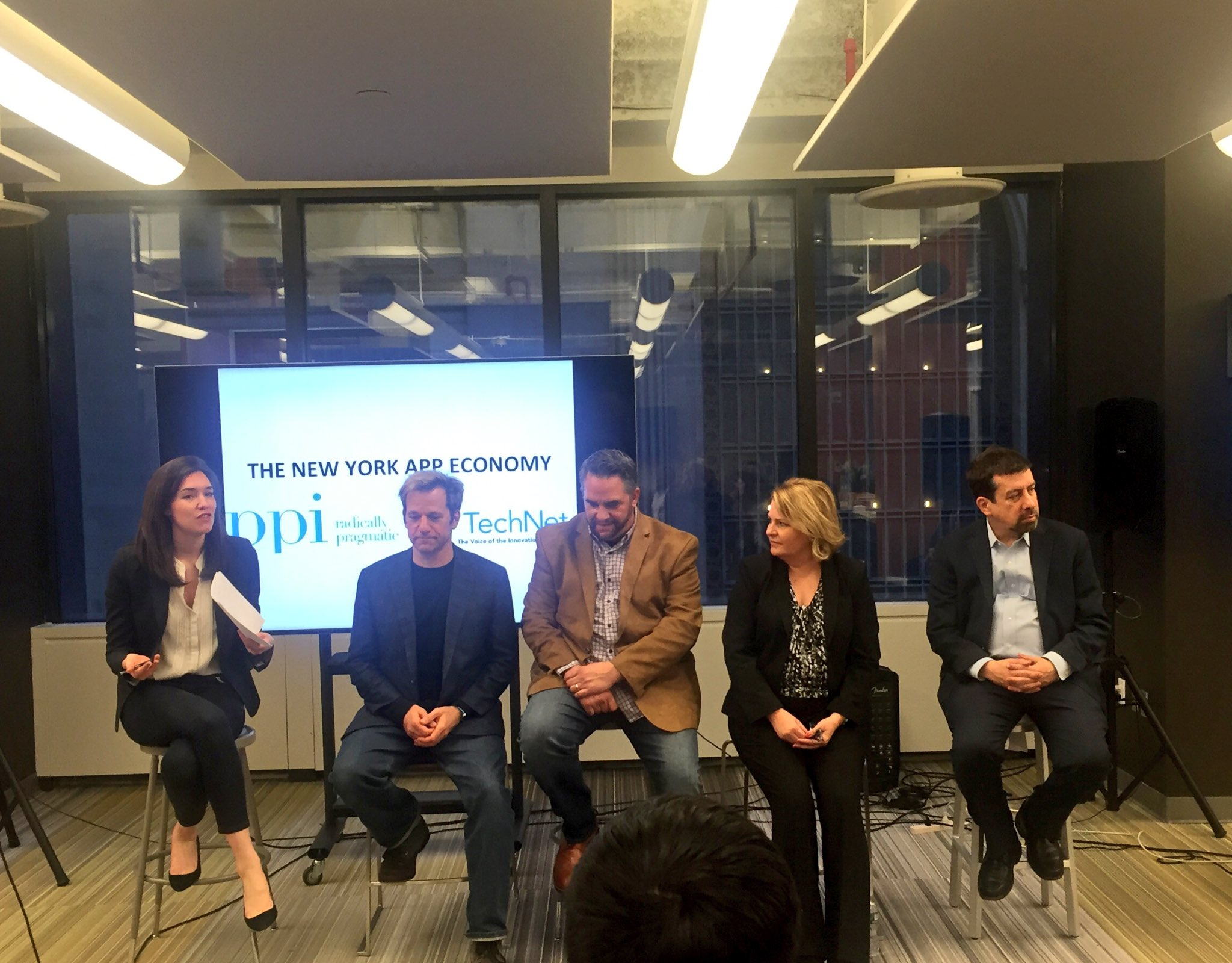 Panel on NYC's role in the #AppEconomy, moderated by @1776NY's @RachelHaot (convened by @TechNetUpdate & @ppi) https://t.co/rKssuKZduN