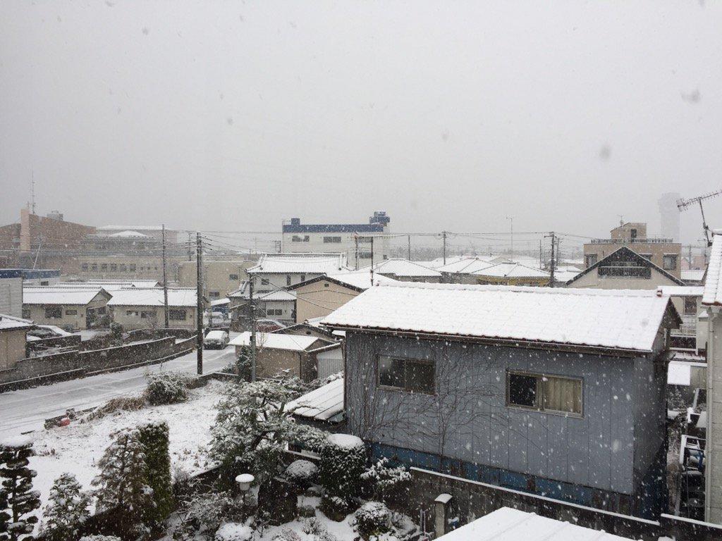 おはようございます。  大洗の町はすっかり雪景色。本日、大洗に居られる方、お越しになる予定の方、足元…