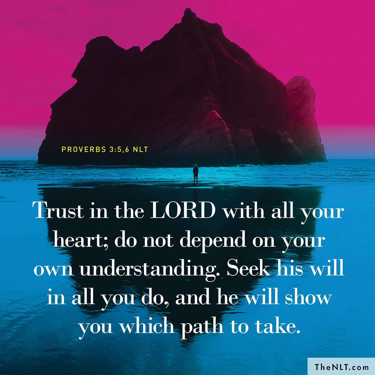 NLT Bible Verse on Twitter: