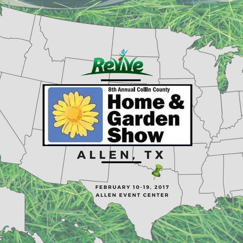 Revive lawn products revivelawn twitter Home and garden show allen tx