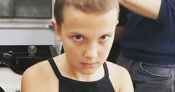 See Eleven's New, CURLY Hair for Stranger Things Season 2