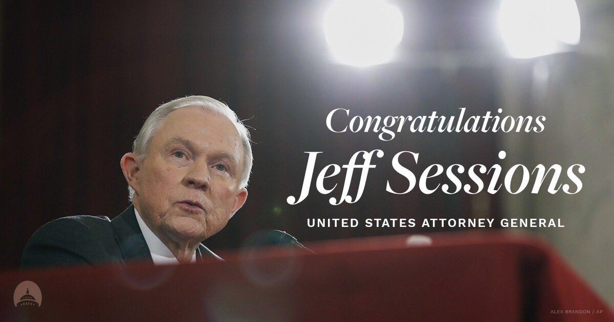 Congratulations, @SenatorSessions! https://t.co/RiZLpHCfRW