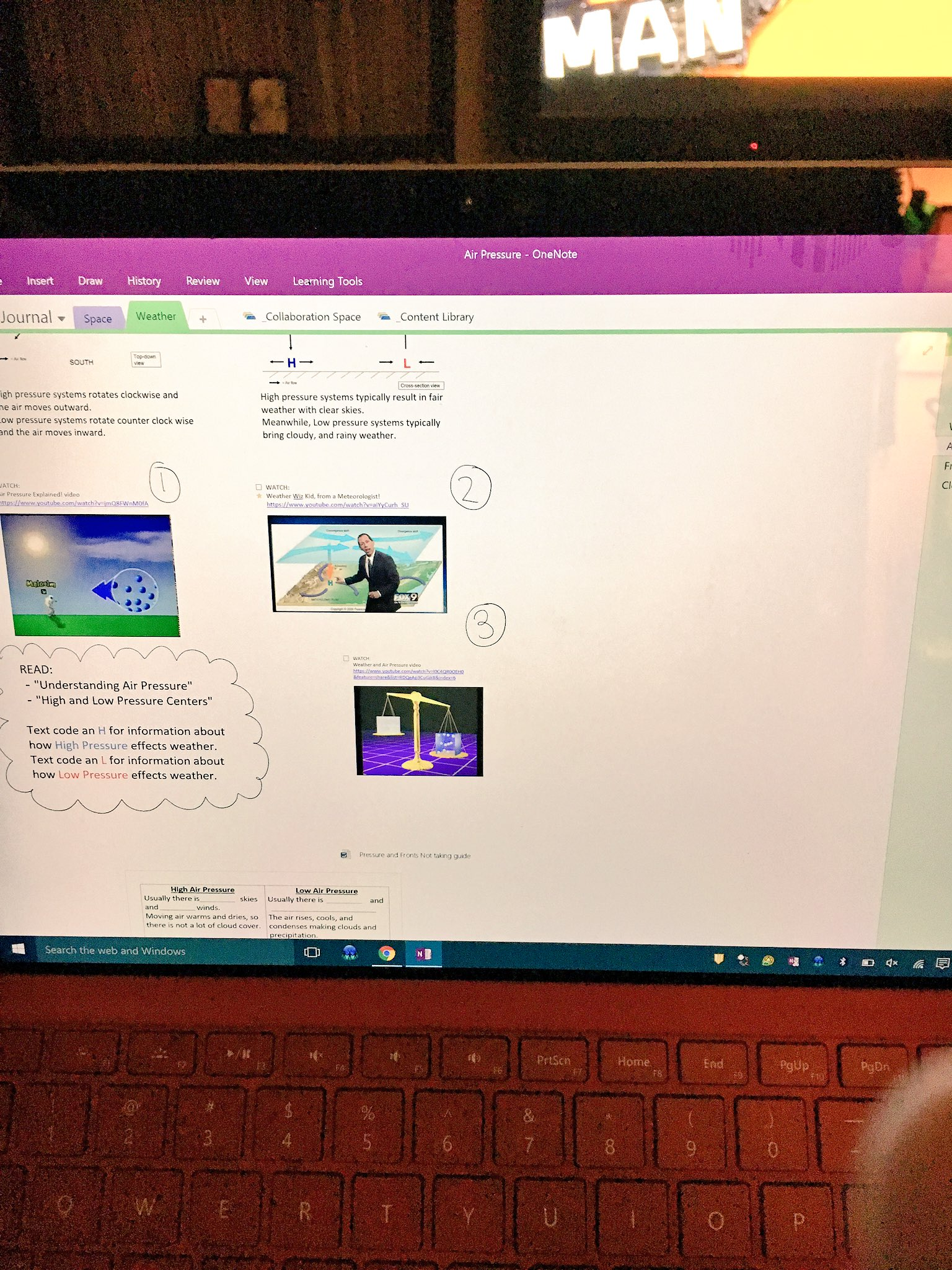 While waiting for #fledchat planning is happening on our OneNote ClassNotebook! #OneNoteQ #fledchat #hcpsteach https://t.co/pLlu1xfvxL