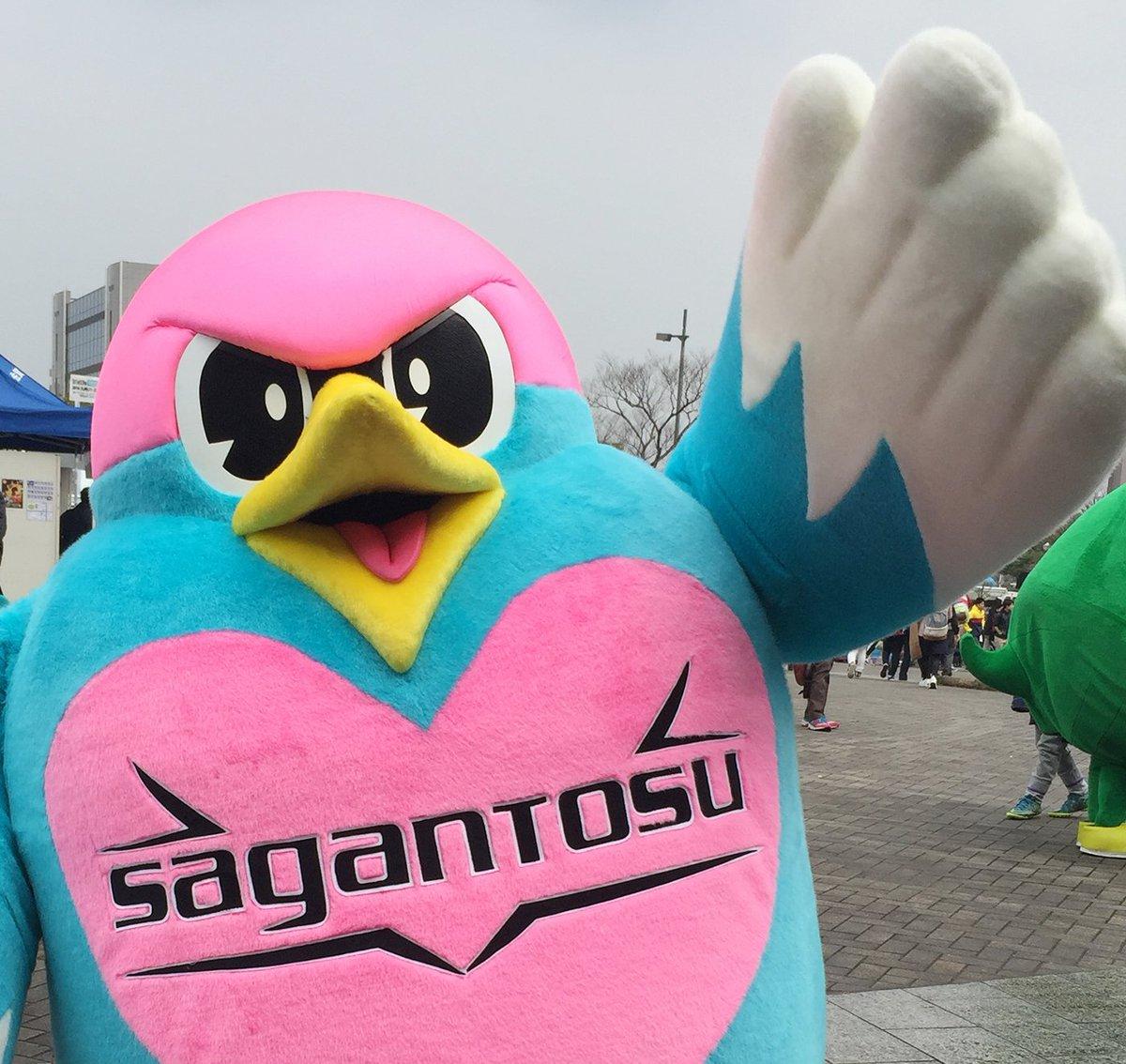 マスコットキャラクターのウィントスと2017年度の契約を更新しました! #sagantosu sag…