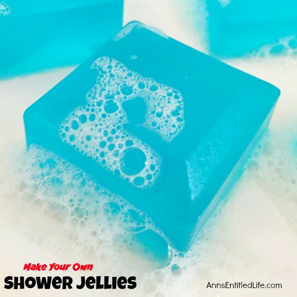 Make Your Own Shower Jellies