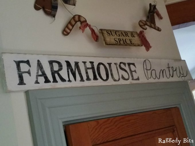 Pallet Farmhouse Pantry Sign