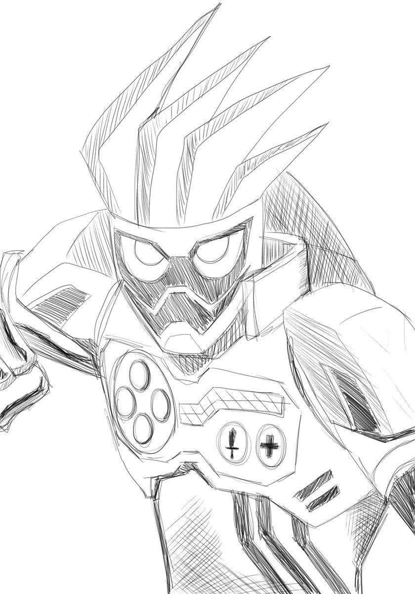 20 Trend Terbaru Gambar Mewarnai Kamen Rider Ex Aid Tasya Schuh