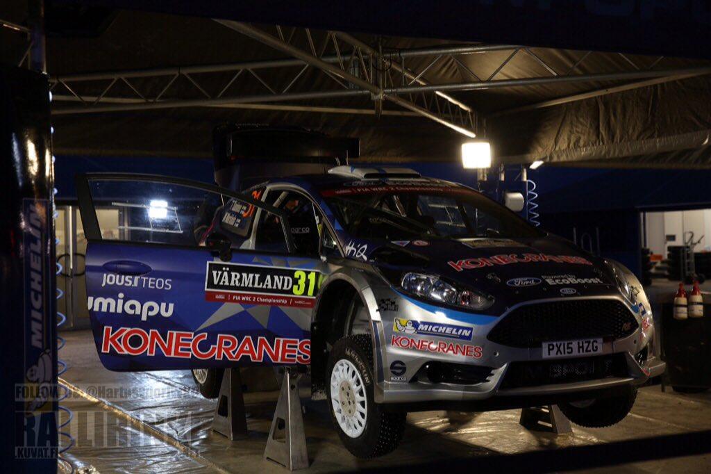 #WRC #RallySweden #WRC2 SD Big battle also within #WRC2 in prospect... @TeemuSuninenRac @OCVeiby @PontusTidemand #Henning #Lukyanuk...<br>http://pic.twitter.com/Sw5RIdgjzU