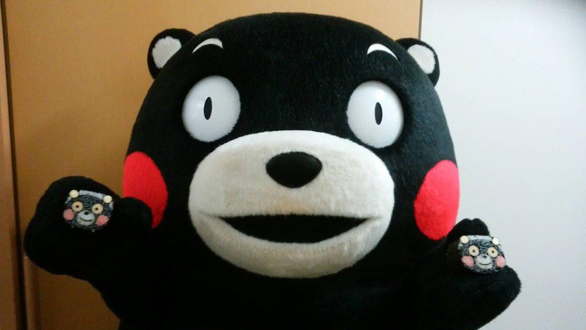 「くまもとから感謝をプロジェクトin長崎」で、ボクの顔の形をした巻き寿司を作って熊本に届けてくまさっ…