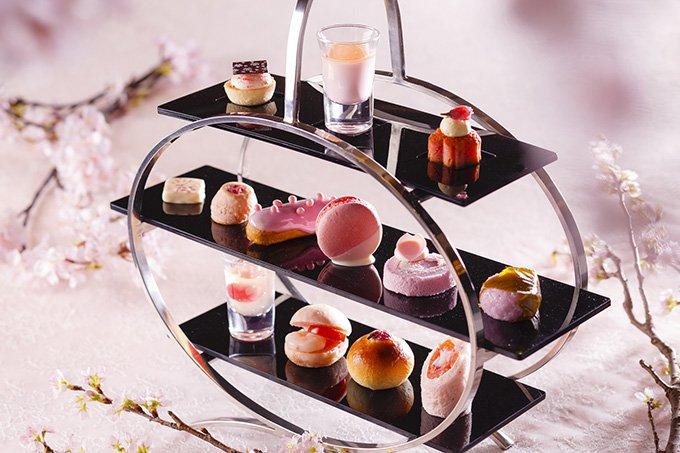桜のハイティーセットやロゼシャンパン飲み放題が楽しめる「さくらフェア」がANAインターコンチネンタル…